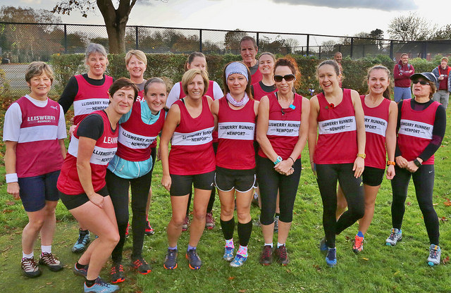 Lliswerry Runners at the Gwent XC